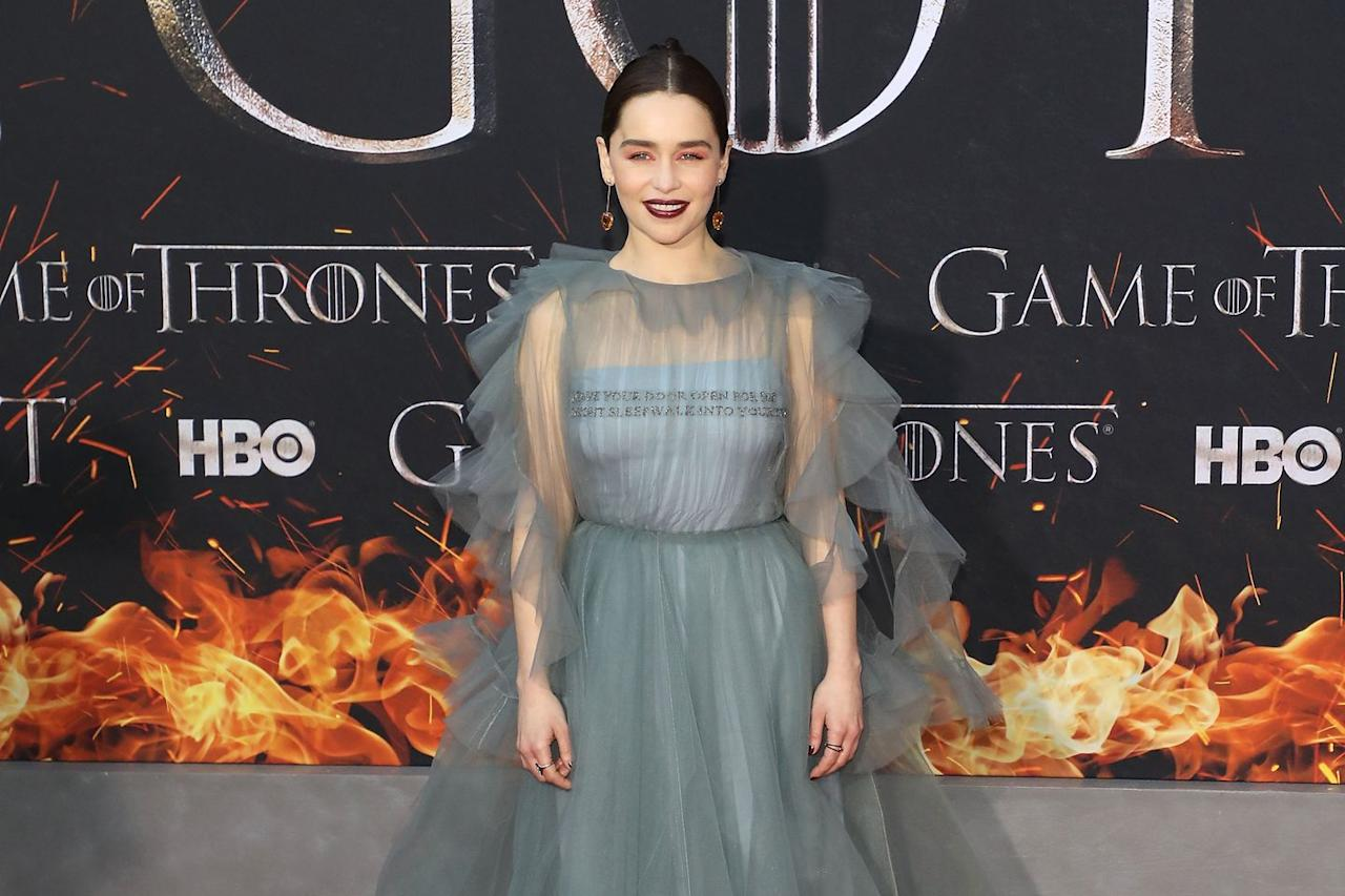 <p><strong>The Nom: </strong>Outstanding Lead Actress in a Drama Series</p><p>Emilia Clarke has been denied a nomination since she categorically switched from supporting actress (where she was nominated three times) to lead. This year's Emmy's are rumored be the year of <em>Game of Thrones</em>, and the show's hype might be just enough to sweep her up into the rankings.</p>
