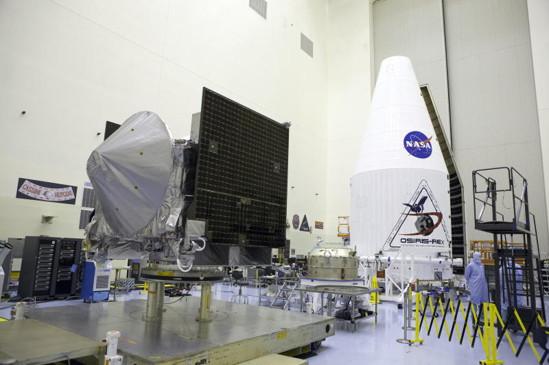 A NASA probe is headed to a nearby asteroid, and will bring part of it back to Earth