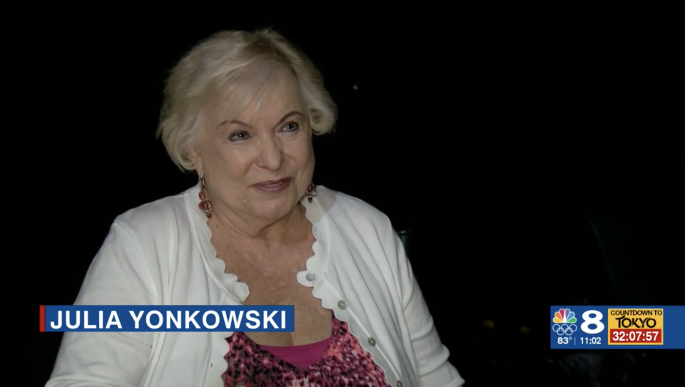 Julia Yonkowski's bank account was actually frozen and she didn't have close to $1 billion in there. Source: WFLA