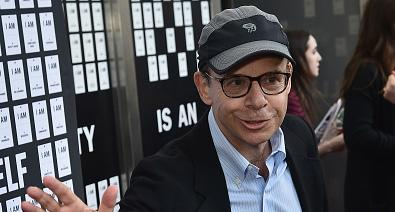 """Rick Moranis attends """"In & Of Itself"""" Opening Night - Arrivals at Daryl Roth Theatre on April 12, 2017 in New York City."""