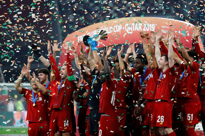 FILE PHOTO: Club World Cup - Final - Liverpool v Flamengo