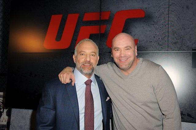 Lorenzo Fertitta (L) and Dana White made the UFC one of the most valuable sports franchises on Earth.