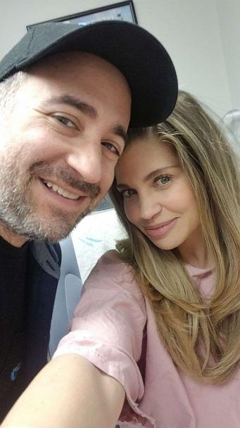 PHOTO: Danielle Fishel and her husband Jensen Karp at their son's first ultrasound. (Danielle Fishel)