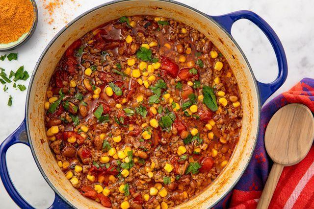 """<p>We need to taco about how good this soup is. </p><p>Get the <a href=""""https://www.delish.com/uk/cooking/recipes/a31774813/easy-taco-soup-recipe/"""" rel=""""nofollow noopener"""" target=""""_blank"""" data-ylk=""""slk:Taco Soup"""" class=""""link rapid-noclick-resp"""">Taco Soup</a> recipe. </p>"""