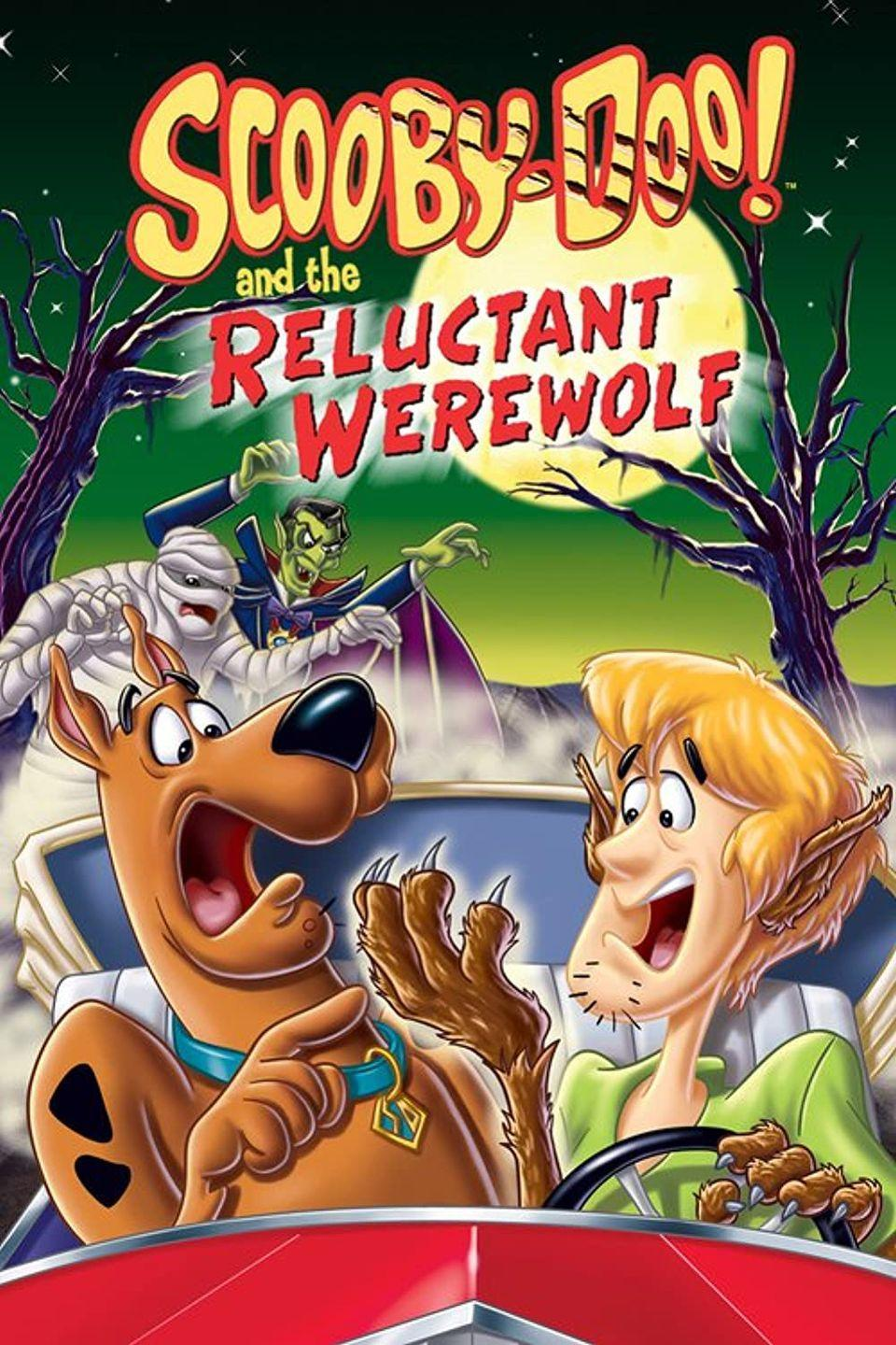 """<p><a class=""""link rapid-noclick-resp"""" href=""""https://www.amazon.com/Scooby-Doo-Reluctant-Werewolf-Hamilton-Camp/dp/B00005UF81?tag=syn-yahoo-20&ascsubtag=%5Bartid%7C10055.g.21987512%5Bsrc%7Cyahoo-us"""" rel=""""nofollow noopener"""" target=""""_blank"""" data-ylk=""""slk:WATCH NOW"""">WATCH NOW</a></p><p>Get Scooby and the gang back together for some kid-friendly fun, solving this mystery on Halloween. Your little monsters will be over the moon for this animated thriller.</p>"""