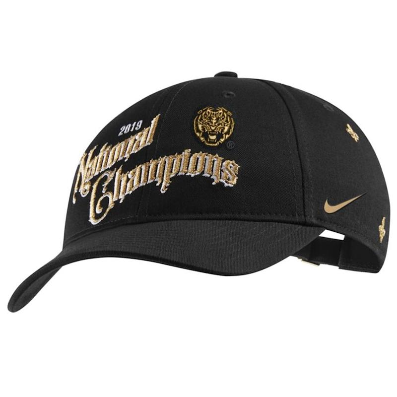 LSU College Football Playoff 2019 National Champions Hat