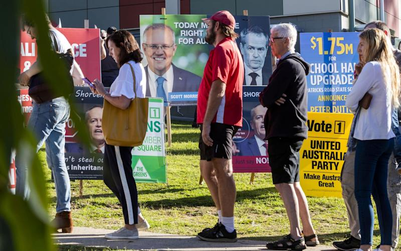 Support in Queensland put Mr Morrison's party over the top  - REUTERS