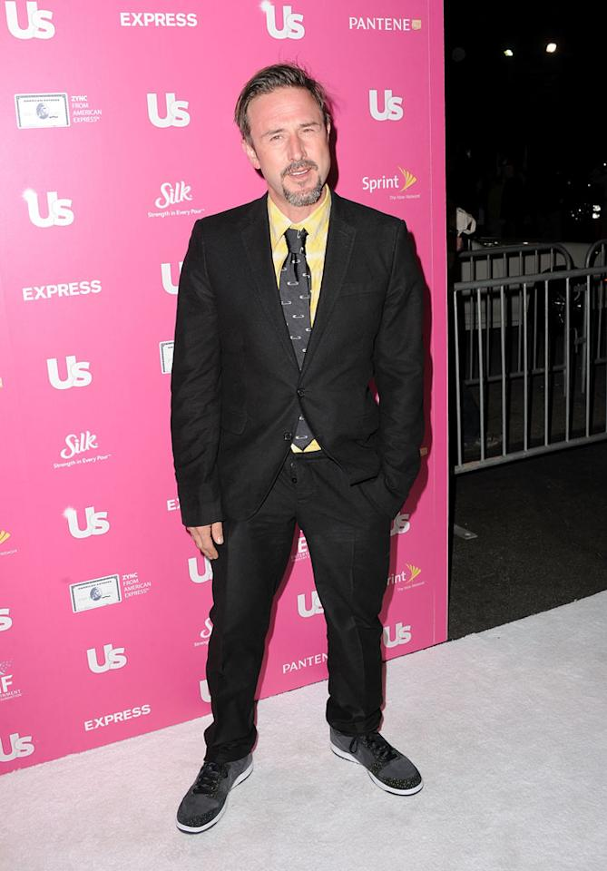 """David Arquette, who works with the Feeding America charity, expressed to """"Entertainment Tonight"""" the importance of the power of celebrity in charity efforts: """"Stars can just bring attention to things, to causes, to charities that need that sort of voice."""" Jordan Strauss/<a href=""""http://www.wireimage.com"""" target=""""new"""">WireImage.com</a> - November 18, 2010"""