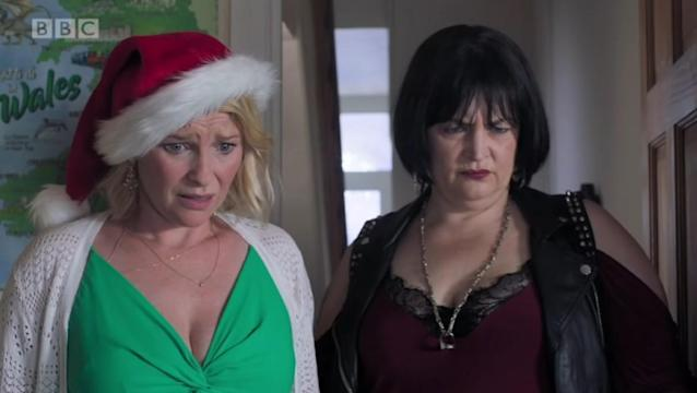 Gavin and Stacey's Christmas special is the most-watched comedy show since Only Fools and Horses's festive one-off back in 2002 (BBC)