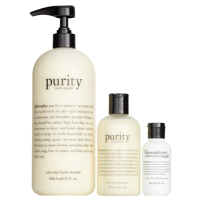 Ensemble de trio de pureté Philosophy. (Photo: Nordstrom)