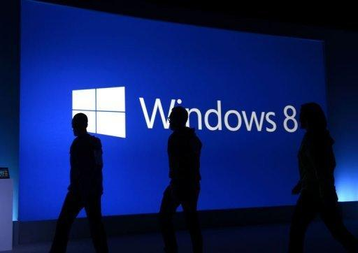 The launch of Windows 8 in New York. Microsoft unveiled a revamped version of its flagship Windows system designed for increasingly mobile consumers and previewed Surface, its entry into the hot tablet market