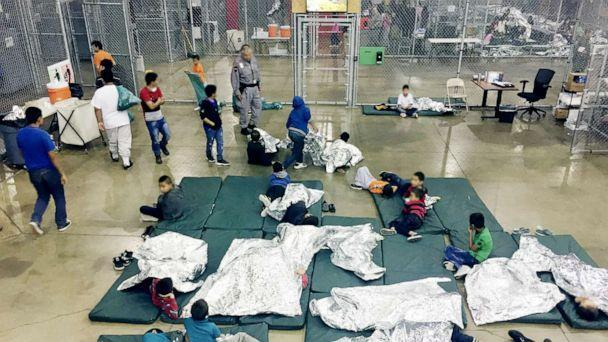 PHOTO: Inside the Central Processing Center in McAllen, Texas on May 23, 2018. (US Customs and Border Protection/via AFP/Getty Images, FILE)