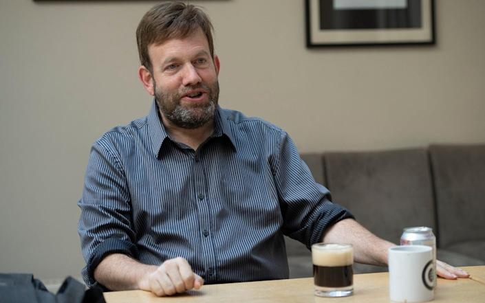 Dr Luntz's work is fuelled by a cocktail of instant coffee and Diet Coke - Eddie Mulholland