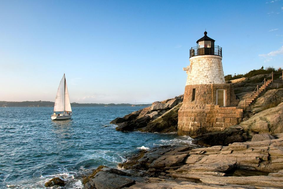 "<p><strong>Best thing to do in Rhode Island:</strong> Sail like you're in the America's Cup</p> <p>Take a two-day private charter on a historic America's Cup yacht, sailing from Newport to Block Island (with a clambake and overnight stay on land) and back. <a href=""https://www.12meteryachtcharters.com/private-charters"" rel=""nofollow noopener"" target=""_blank"" data-ylk=""slk:12 Meter Charters"" class=""link rapid-noclick-resp"">12 Meter Charters</a> owns two boats: <em>The Columbia</em>, first winner of the race in Rhode Island in 1958, and the beautiful, wooden-hulled <em>Heritage</em> from 1970. The company will hook you up with a sailing crew (you can either participate in hoisting the sails and steering the boat, or enjoy the views while the staff takes care of everything), and they'll even arrange beverages and catered breakfast, lunch, or hors d'oeuvres to customize your day on the water.</p>"