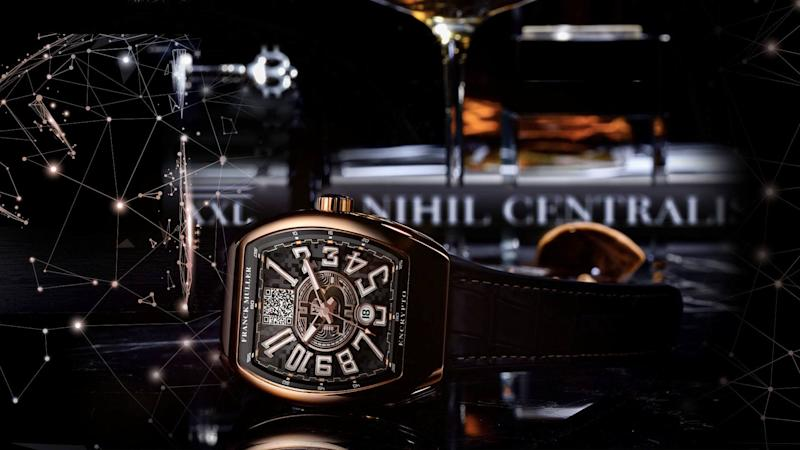 Add some bitcoin to your bling. | Source: Franck Muller