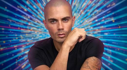 Max George is hoping to follow in the success of his The Wanted bandmate Jay McGuinness who won the show in 2015. (BBC)