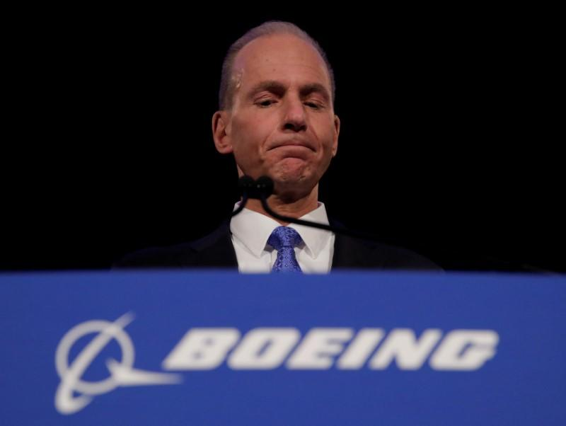 Boeing's ousted CEO departs with $62 million, even without severance pay