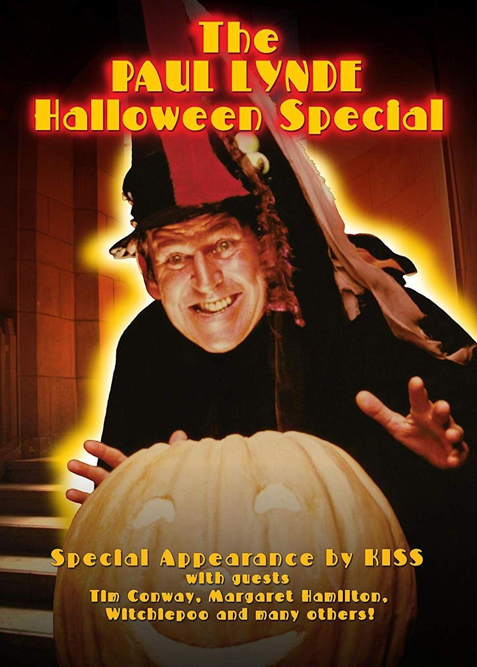 <p>Televised variety specials were popular during the 1970s, so it's no wonder that the decade saw its fair share of Halloween variety shows. Airing on ABC, <em>The Paul Lynde Halloween Special </em>was nothing short of bizarre, at least by today's standards. How strange was it? Let's just say special guests included Betty White, Florence Henderson, and heavy metal rock band KISS.</p>