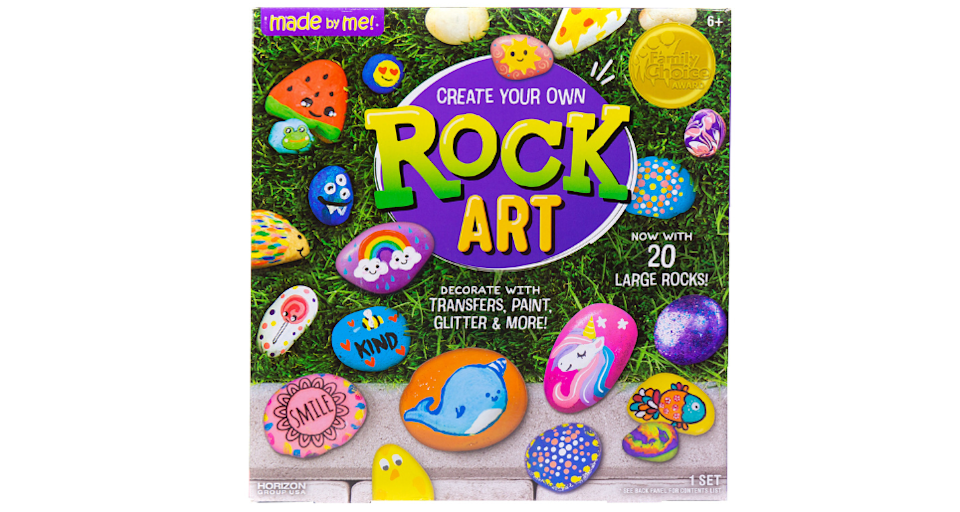 Everything you need to create cute rocks. (Photo: Walmart)
