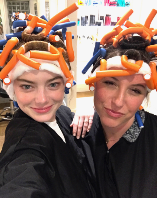 Emma Stone Just Got a Perm (Insert Your Legally Blonde Quotes Here)