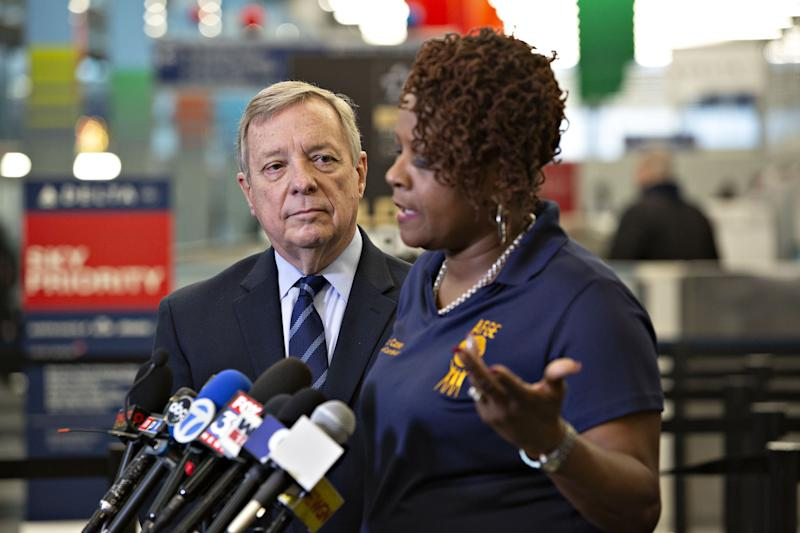 Government shutdown is affecting airport operations, slowing funding for CTA projects