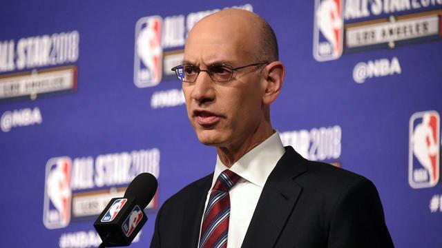 Tiki and Tierney discuss the comments of NBA commissioner Adam Silver on re-seeding the playoffs.
