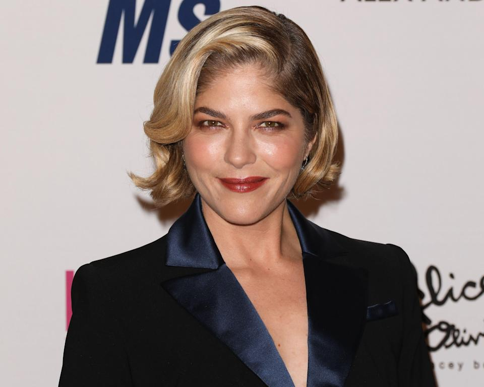 Selma Blair attends the 26th annual Race To Erase MS Gala on May 10, 2019, at the Beverly Hilton Hotel in Beverly Hills, California. (Photo: Paul Archuleta/FilmMagic)