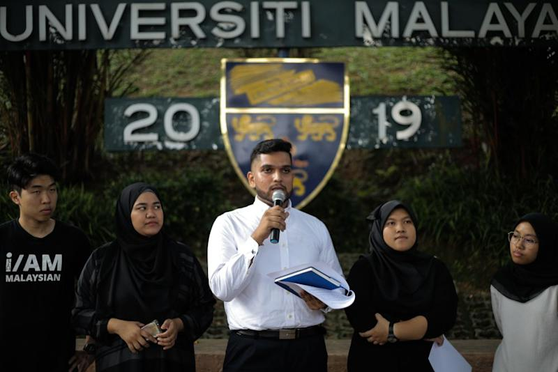 The forum on the Rome Statute is organised by nine students who had leaked the alleged executive summary of a briefing by four academics to the Conference of Rulers, which then ostensibly led to Putrajaya's withdrawal. — Picture by Ahmad Zamzahuri