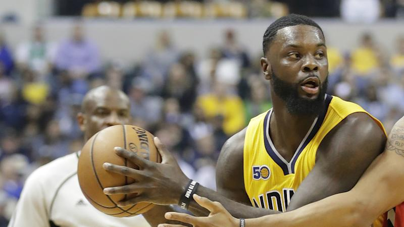 Lance Stephenson plans on tying Paul George to a chair to keep him with Pacers