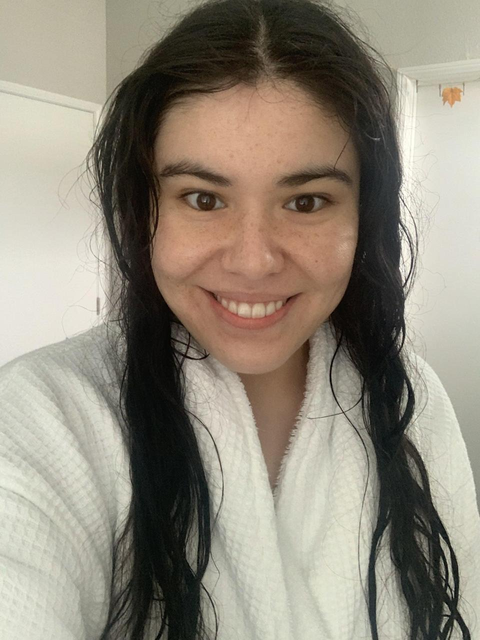 Step 1: Start With Wet Hair, and Work In Moisturizer