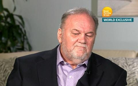 <span>Thomas Markle Snr on Good Morning Britain</span>