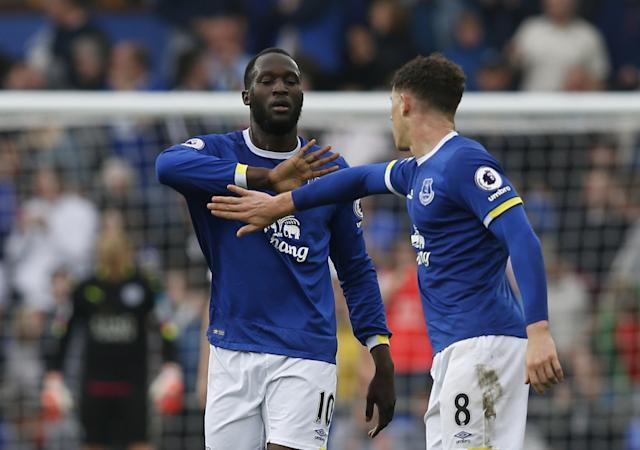 Romelu Lukaku and Ross Barkley