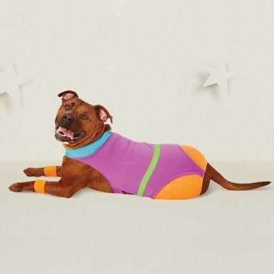 "<p>The true inspiration behind the peach emoji.</p> <br> <br> <strong>Target</strong> Aerobics Pet Costume, $12.99, available at <a href=""https://www.target.com/p/aerobics-dog-costume-hyde-and-eek-boutique-153/-/A-53655342"" rel=""nofollow noopener"" target=""_blank"" data-ylk=""slk:Target"" class=""link rapid-noclick-resp"">Target</a>"