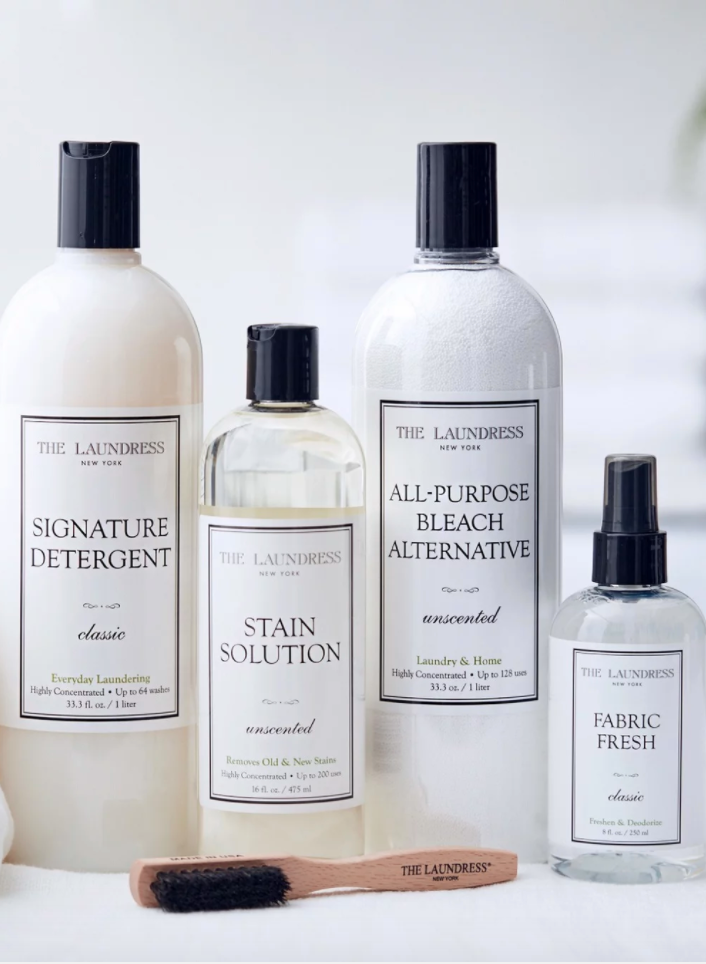 """<h2>The Laundress Everyday Laundry Kit</h2><br>Because (sorry mom) laundry was never her specialty.<br><br><strong>The Laundress</strong> Everyday Laundry Kit, $, available at <a href=""""https://go.skimresources.com/?id=30283X879131&url=https%3A%2F%2Fwww.thelaundress.com%2Feveryday-laundry-starter-kit.html"""" rel=""""nofollow noopener"""" target=""""_blank"""" data-ylk=""""slk:The Laundress"""" class=""""link rapid-noclick-resp"""">The Laundress</a><span class=""""copyright"""">Photo Courtesy of The Laundress.</span>"""