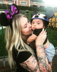 <strong>Kailyn Lowry and son Lux </strong>