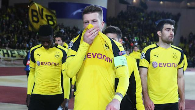 Borussia Dortmund paid the price for their poor start in Monaco after crashing out of the Champions League, says Marco Reus.