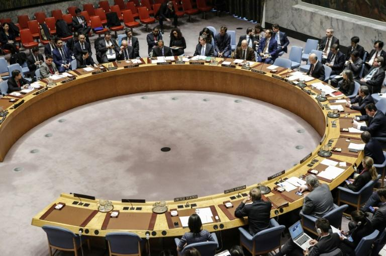 The UN Security Council, seem here in a session on  North Korea, has six new members