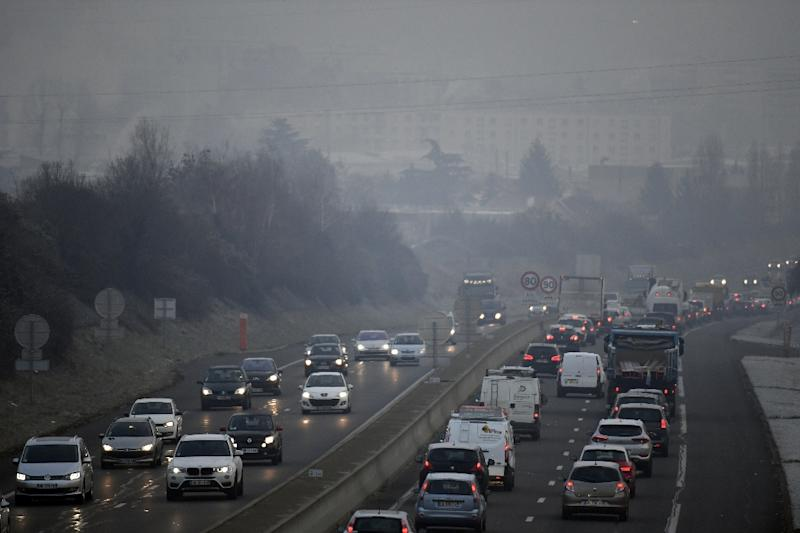 Speed limits have been reduced in many parts of France in late January to combat heavy pollution