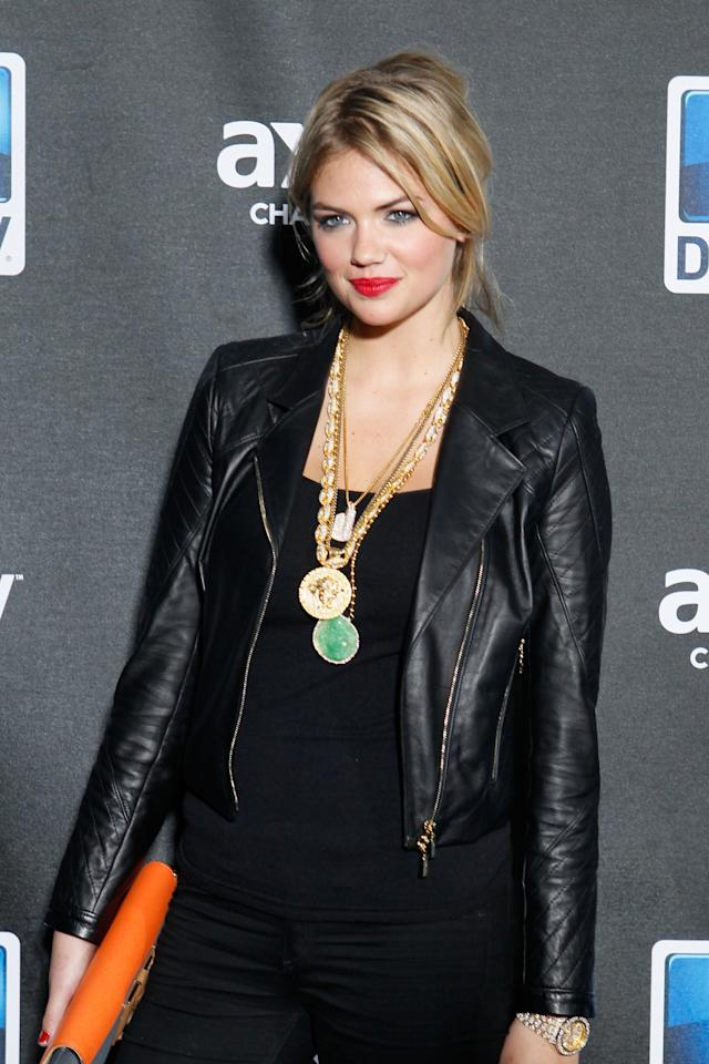 NEW ORLEANS, LA - FEBRUARY 02:  Model/Actress Kate Upton attends DIRECTV Super Saturday Night Featuring Special Guest Justin Timberlake & Co-Hosted By Mark Cuban's AXS TV on February 2, 2013 in New Orleans, Louisiana.  (Photo by Skip Bolen/Getty Images for DirecTV)