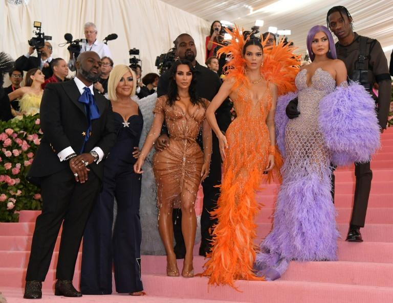 The Kardashians at the Met Ball in May 2019