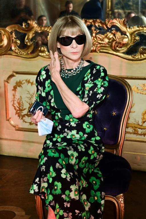 Anna Wintour has become global editorial director, overseeing the international editions of Vogue from New York (AFP/MIGUEL MEDINA)