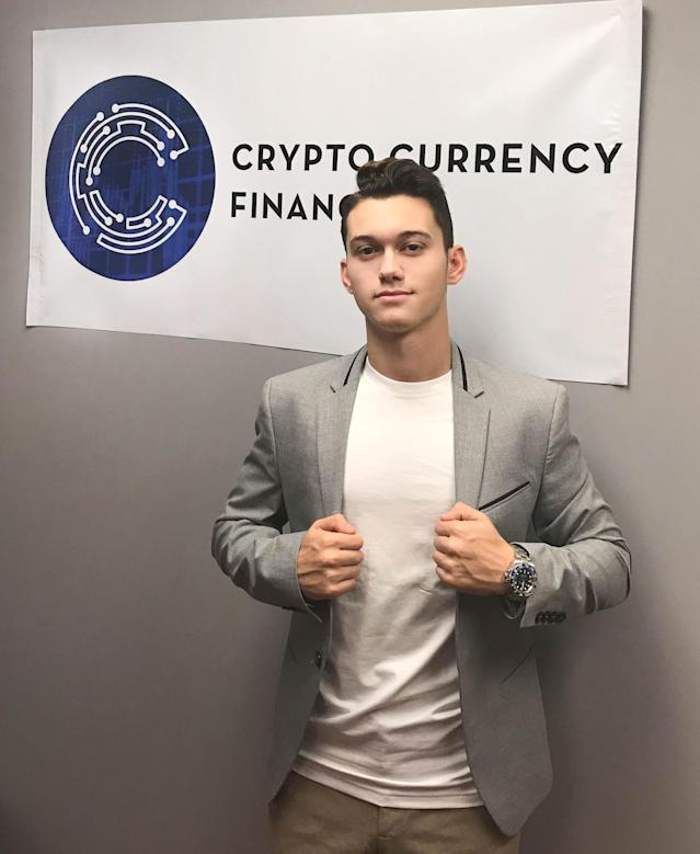 Eddy Zillan, 18, of Orange, Ohio, has amassed well over $500,000 worth of bitcoin and other cryptocurrencies. (Photo courtesy of Eddy Zillan)