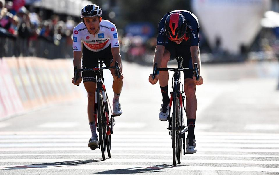 Giro d'Italia 2020, stage 20 — full results and standings: Tao Geoghegan Hart wins stage as Jai Hindley takes pink jersey - GETTY IMAGES