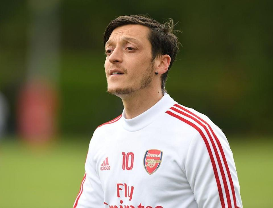 Arsenal's Mesut Ozil (Arsenal FC via Getty Images)