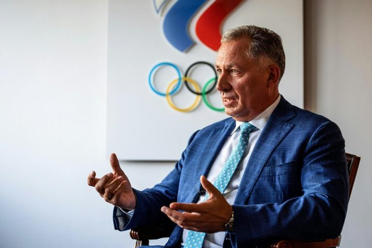 The head of Russia's Olympic Committee, Stanislav Pozdnyakov, is targeting 40-50 gold medals in Tokyo