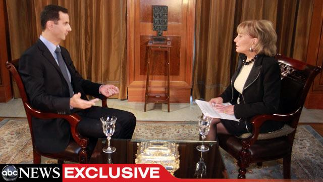 TRANSCRIPT: ABC's Barbara Walters' Interview With Syrian President Bashar al-Assad