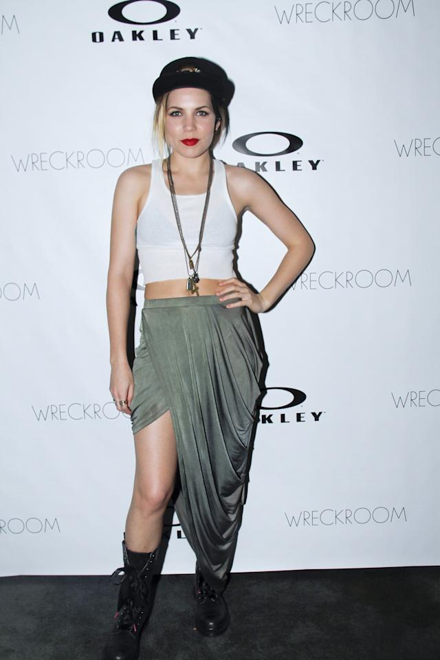 AUSTIN, TX - MARCH 15: Skylar Grey attends the Oakley and Wreckroom musical presentation at The W hotel on March 15, 2013 in Austin, Texas. (Photo by Rahav Segev/Getty Images for Oakley)