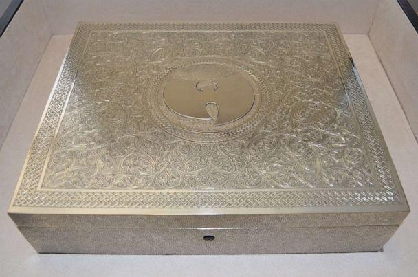 PHOTO: Martin Shkreli's copy of Wu-Tang Clan's 'Once Upon a Time in Shaolin' includes a hand-carved nickel-silver box. It was sold to a confidential buyer, and proceeds will be applied to the balance of the $7.4 million Shkreli owes in forfeiture. (United States Marshals Service)