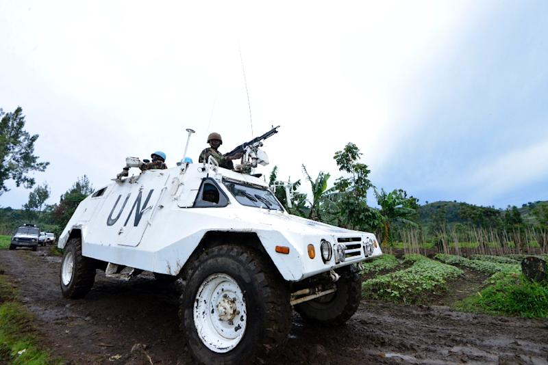 The UN has 19,000 soldiers, police and military observers deployed in the DR Congo, costing $1.2 billion annually (AFP Photo/Junior D. Kannah)