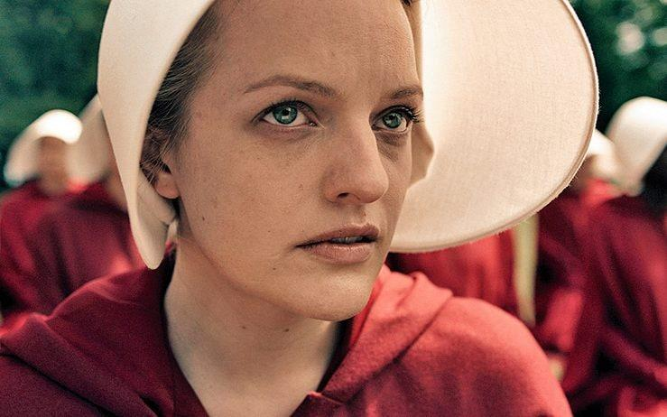 Elisabeth Moss as June/Offred - Channel 4